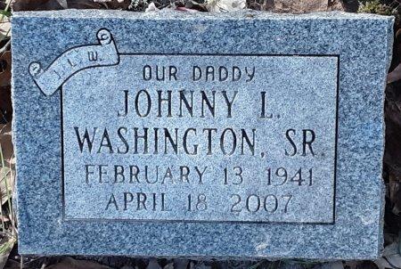 WASHINGTON, SR, JOHNNY L - Miller County, Arkansas | JOHNNY L WASHINGTON, SR - Arkansas Gravestone Photos