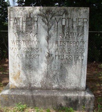 WOODS WESTBROOK, SARAH M. - Miller County, Arkansas | SARAH M. WOODS WESTBROOK - Arkansas Gravestone Photos