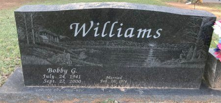 WILLIAMS, BOBBY G - Miller County, Arkansas | BOBBY G WILLIAMS - Arkansas Gravestone Photos