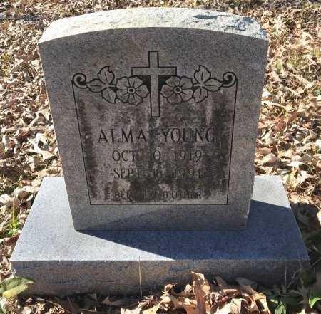 YOUNG, ALMA - Miller County, Arkansas | ALMA YOUNG - Arkansas Gravestone Photos