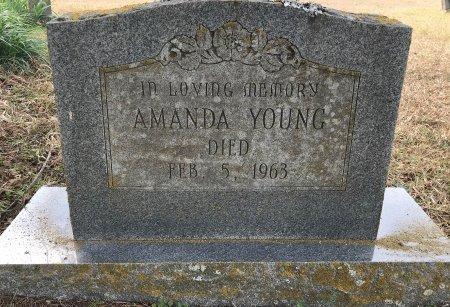 YOUNG, AMANDA - Miller County, Arkansas   AMANDA YOUNG - Arkansas Gravestone Photos