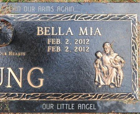 YOUNG, BELLA MIA (CLOSEUP) - Miller County, Arkansas | BELLA MIA (CLOSEUP) YOUNG - Arkansas Gravestone Photos
