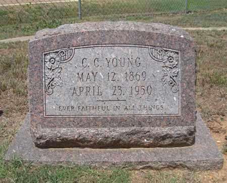 YOUNG, C C - Miller County, Arkansas   C C YOUNG - Arkansas Gravestone Photos