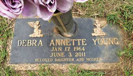 YOUNG, DEBRA ANNETTE - Miller County, Arkansas   DEBRA ANNETTE YOUNG - Arkansas Gravestone Photos