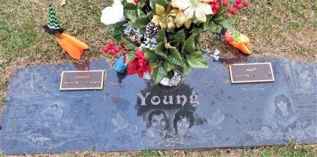 YOUNG, DONALD - Miller County, Arkansas | DONALD YOUNG - Arkansas Gravestone Photos