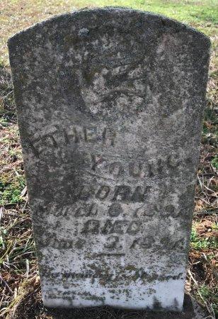 YOUNG, ETHER - Miller County, Arkansas   ETHER YOUNG - Arkansas Gravestone Photos