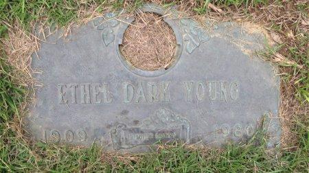 YOUNG, ETHEL - Miller County, Arkansas   ETHEL YOUNG - Arkansas Gravestone Photos