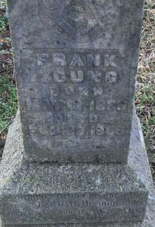 YOUNG, FRANK (CLOSE UP) - Miller County, Arkansas | FRANK (CLOSE UP) YOUNG - Arkansas Gravestone Photos