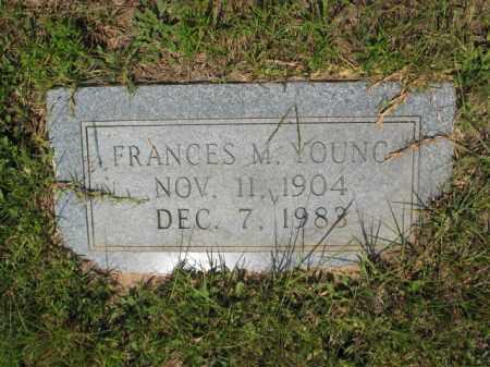YOUNG, FRANCES M - Miller County, Arkansas   FRANCES M YOUNG - Arkansas Gravestone Photos
