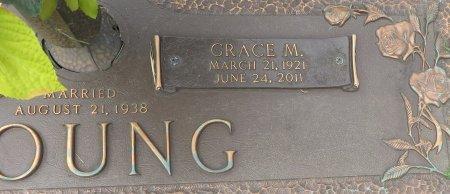 YOUNG, GRACE (CLOSEUP) - Miller County, Arkansas | GRACE (CLOSEUP) YOUNG - Arkansas Gravestone Photos