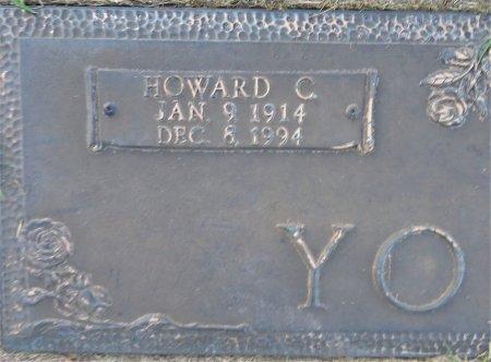 YOUNG, HOWARD C. (CLOSEUP) - Miller County, Arkansas   HOWARD C. (CLOSEUP) YOUNG - Arkansas Gravestone Photos