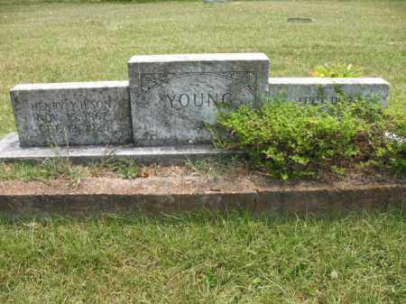 YOUNG, HENRY WILSON - Miller County, Arkansas   HENRY WILSON YOUNG - Arkansas Gravestone Photos