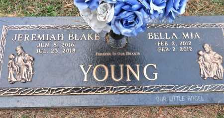 YOUNG, BELLA MIA - Miller County, Arkansas | BELLA MIA YOUNG - Arkansas Gravestone Photos