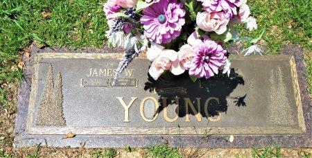 YOUNG, JAMES W. - Miller County, Arkansas | JAMES W. YOUNG - Arkansas Gravestone Photos