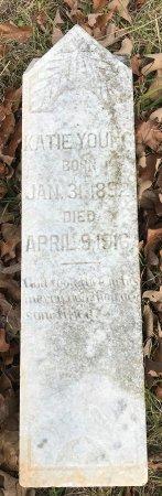 YOUNG, KATIE (CLOSEUP) - Miller County, Arkansas | KATIE (CLOSEUP) YOUNG - Arkansas Gravestone Photos