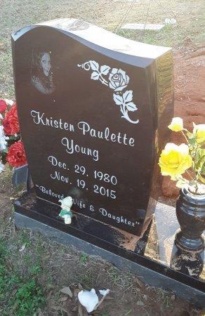 YOUNG, KRISTEN - Miller County, Arkansas   KRISTEN YOUNG - Arkansas Gravestone Photos