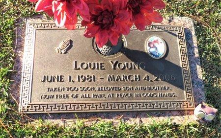 YOUNG, LOUIE - Miller County, Arkansas   LOUIE YOUNG - Arkansas Gravestone Photos