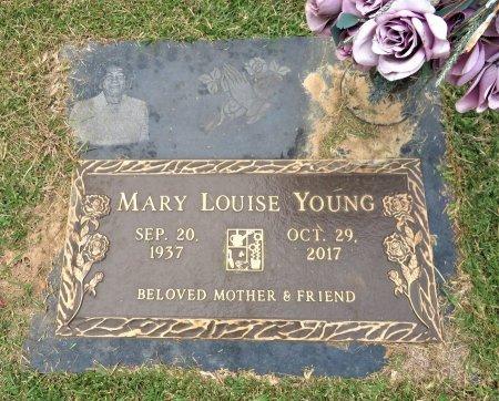 YOUNG, MARY LOUISE - Miller County, Arkansas   MARY LOUISE YOUNG - Arkansas Gravestone Photos