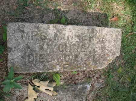 YOUNG, MINERVA - Miller County, Arkansas   MINERVA YOUNG - Arkansas Gravestone Photos