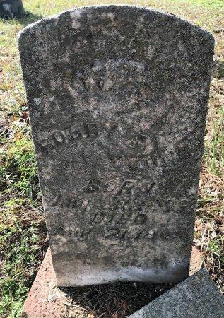 YOUNG, ROBBY - Miller County, Arkansas   ROBBY YOUNG - Arkansas Gravestone Photos