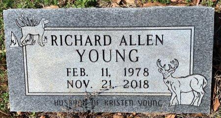 YOUNG, RICHARD ALLEN - Miller County, Arkansas | RICHARD ALLEN YOUNG - Arkansas Gravestone Photos