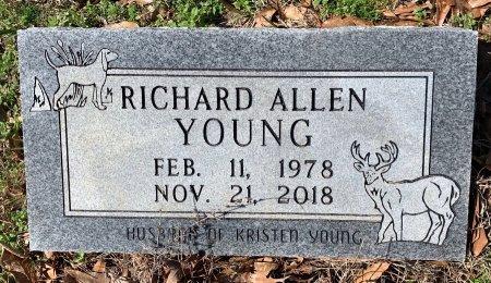 YOUNG, RICHARD ALLEN - Miller County, Arkansas   RICHARD ALLEN YOUNG - Arkansas Gravestone Photos