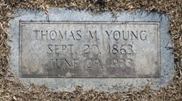 YOUNG, THOMAS M. - Miller County, Arkansas | THOMAS M. YOUNG - Arkansas Gravestone Photos