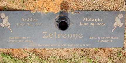 ZETRENNE, MELANIE - Miller County, Arkansas | MELANIE ZETRENNE - Arkansas Gravestone Photos