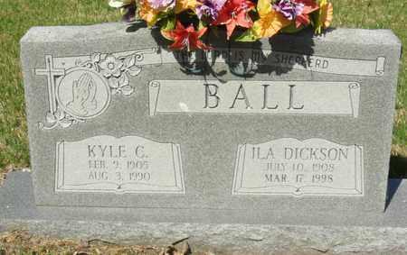 BALL, KYLE C - Mississippi County, Arkansas | KYLE C BALL - Arkansas Gravestone Photos