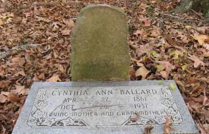 BALLARD (2), CYNTHIA ANN - Mississippi County, Arkansas | CYNTHIA ANN BALLARD (2) - Arkansas Gravestone Photos