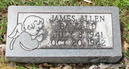 BALLARD, JAMES ALLEN - Mississippi County, Arkansas | JAMES ALLEN BALLARD - Arkansas Gravestone Photos