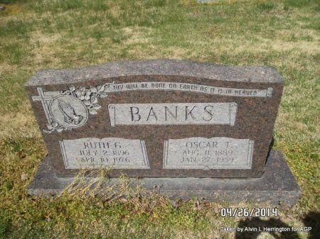 BANKS, RUTH G - Mississippi County, Arkansas   RUTH G BANKS - Arkansas Gravestone Photos