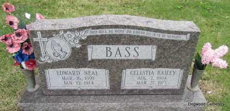 BASS, EDWARD NEAL - Mississippi County, Arkansas   EDWARD NEAL BASS - Arkansas Gravestone Photos