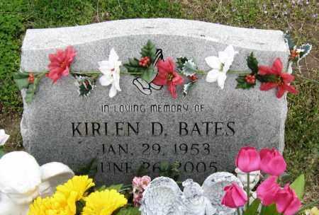BATES, KIRLEN D - Mississippi County, Arkansas | KIRLEN D BATES - Arkansas Gravestone Photos