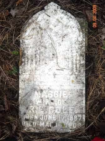 COLE, MAGGIE - Mississippi County, Arkansas | MAGGIE COLE - Arkansas Gravestone Photos