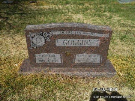 BANKS GOGGINS, HELEN - Mississippi County, Arkansas   HELEN BANKS GOGGINS - Arkansas Gravestone Photos