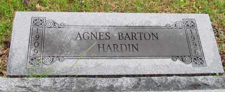 HARDIN, AGNES - Mississippi County, Arkansas | AGNES HARDIN - Arkansas Gravestone Photos