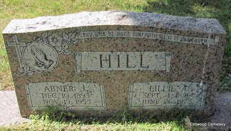 HILL, ABNER J - Mississippi County, Arkansas | ABNER J HILL - Arkansas Gravestone Photos