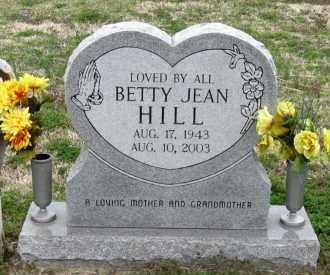 HILL, BETTY JEAN - Mississippi County, Arkansas   BETTY JEAN HILL - Arkansas Gravestone Photos