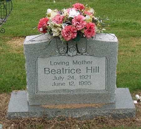 HILL, BEATRICE - Mississippi County, Arkansas | BEATRICE HILL - Arkansas Gravestone Photos