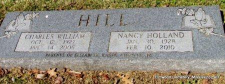HILL, NANCY - Mississippi County, Arkansas | NANCY HILL - Arkansas Gravestone Photos