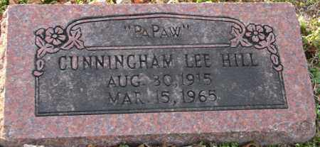 HILL, CUNNINGHAM LEE - Mississippi County, Arkansas   CUNNINGHAM LEE HILL - Arkansas Gravestone Photos