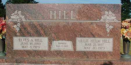 HILL, ELVES A. - Mississippi County, Arkansas | ELVES A. HILL - Arkansas Gravestone Photos