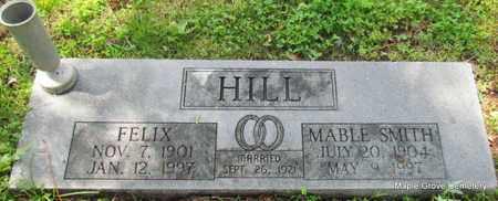 HILL, FELIX - Mississippi County, Arkansas | FELIX HILL - Arkansas Gravestone Photos