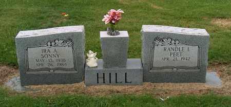 HILL, IRA A - Mississippi County, Arkansas | IRA A HILL - Arkansas Gravestone Photos