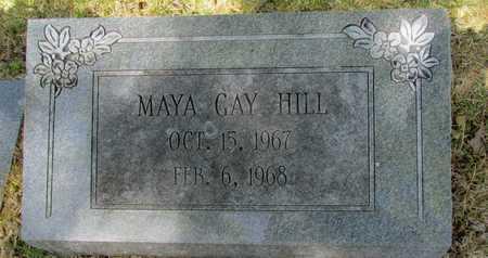 HILL, MAYA GAY - Mississippi County, Arkansas   MAYA GAY HILL - Arkansas Gravestone Photos