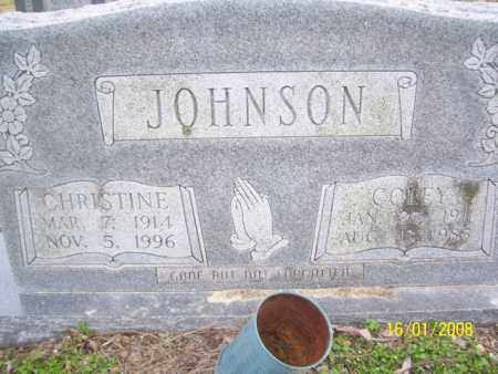 ROPER JOHNSON, CHRISTINE - Mississippi County, Arkansas | CHRISTINE ROPER JOHNSON - Arkansas Gravestone Photos