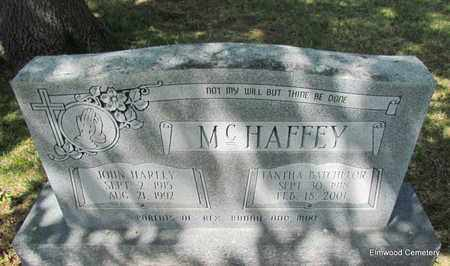 BATCHELOR MCHAFFEY, IANTHA - Mississippi County, Arkansas | IANTHA BATCHELOR MCHAFFEY - Arkansas Gravestone Photos