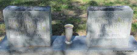 BALL MOORE, BERTHA - Mississippi County, Arkansas | BERTHA BALL MOORE - Arkansas Gravestone Photos
