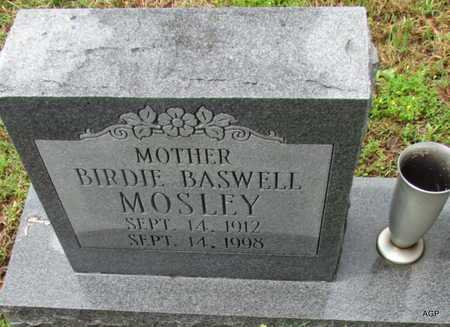 BASWELL MOSLEY, BIRDIE - Mississippi County, Arkansas | BIRDIE BASWELL MOSLEY - Arkansas Gravestone Photos